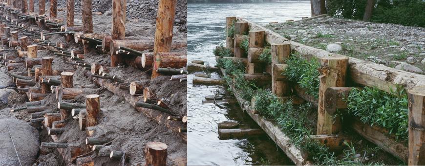 Parco Naturale Valle del Ticino Ente di Gestione - Lavori di recupero e ricostruzione di difese spondali lungo il fiume Ticino danneggiate dall'evento alluvionale dei mesi di ottobre novembre – località Colonia Elioterapica