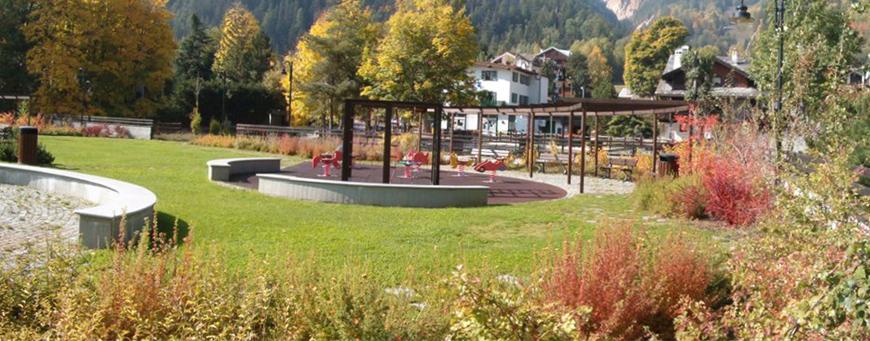 Comune di Courmayeur (AO) - Sistemazione a verde dell'area Tzan De Bla in località Dolonne