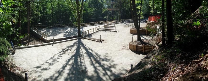RNS del Sacro Monte della SS. Trinità di Ghiffa (VB) - Realizzazione di un parcheggio nei pressi dell'area monumentale