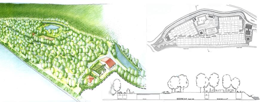 Piano esecutivo per la sistemazione del Camping Plaja di Valverde, Galliate (NO)