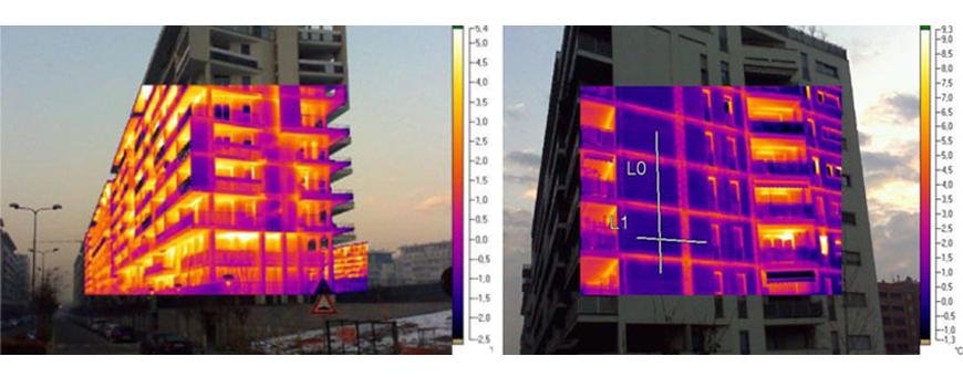 Termografia per l'edilizia